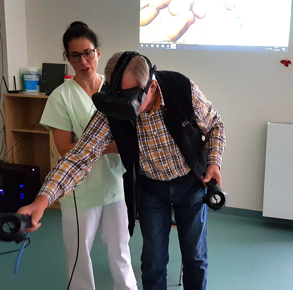 VR in der Geriatrie - St. Johannisstift